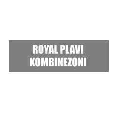 Royal plavi kombinezoni