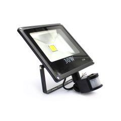 REFLEKTOR LED SA SENZOROM  30W 230V IP66, 2100 LUMENA, 6500 K