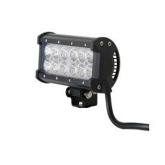 LAMPA OFF ROAD PANEL LED  36W (12X3W) COMBO 167mm 10-30V EMC R10