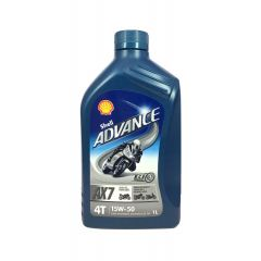 ULJE ADVANCE 4T AX7 15W50 1/1 SHELL