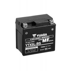 AKUMULATOR MOTO YUASA 12V  4,0 Ah D+ YTX 5L-BS S ELEKTROLITOM 114X71X106 JAMSTVO 12 MJESECA