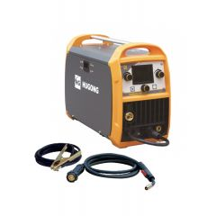 APARAT ZA ZAVARIVANJE INV/MIG(CO2)/REL I TIG 200 LCD 4R INVERTER TEKMASTER HUGONG komplet sa kablom