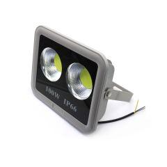 REFLEKTOR LED  100W (2X50W) 230V IP66 11000 LUMENA, 6500K SIVO-CRNI LY-F100