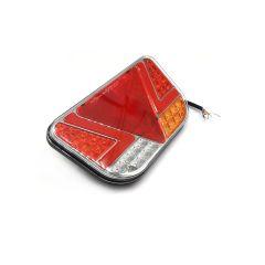 LAMPA STOP KAMION LED 241X140mm POZICIJA, STOP,  ŽMIGAVAC, RIKVERC, MAGLENKA TROKUT 12/24V LIJEVA