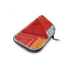 LAMPA STOP KAMION LED 241X140mm POZICIJA, STOP,  ŽMIGAVAC, RIKVERC, MAGLENKA TROKUT 12/24V DESNA