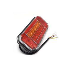 LAMPA STOP KAMION LED 165X80mm 3-FUNKCIJE POZICIJA, STOP, ŽMIGAVAC MALA 12/24V DESNA