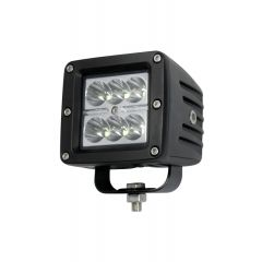 LAMPA RADNA KVADRATNA LED 18W (6X3W) CREE LED, 9-32V, 1620 LUMENA, 6000K, IP68 ALU KUĆIŠTE , 76X76mm
