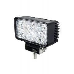 LAMPA RADNA PRAVOKUTNA LED 18W (6X3W) VISOKI INTEZITET EPISTAR, 9-32V,1080 lm,6000K,IP68 ALU KUĆIŠTE
