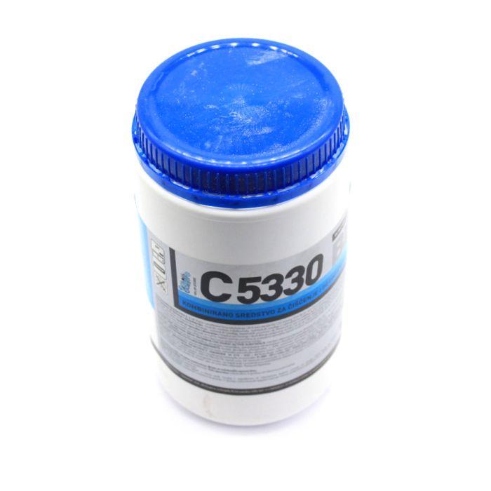 BIS PRAŠAK C5330 1/1 PVC KUTIJA SREDSTVO ZA PRANJE I DEZINFEKCIJU MUZILICA , MLJEKOVODA , LAKTOFRIZA